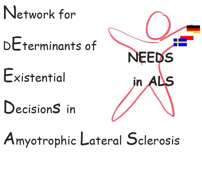 Logo des NEEDSinALS-Projektes zu den Entscheidungen zu Lebensverlängerung- und –verkürzung bei der ALS.